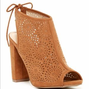 Morris Laser Cut Booties by Wild Diva Lounge